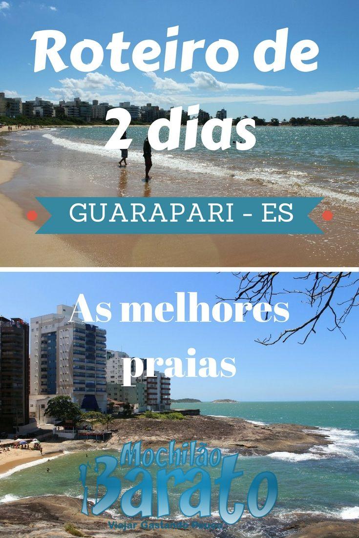 Roteiro de 2 dias em Guarapari no Espírito Santo. As melhores praias.