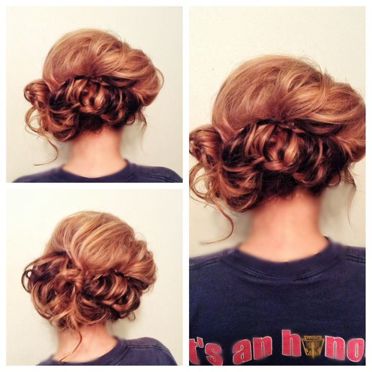 Crazy braid into an updo #hair #hairstyle | hairstyles ...