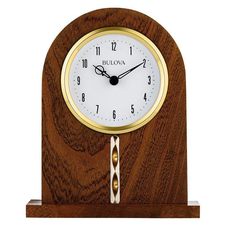 Bulova Hampton Office Clock - B5401