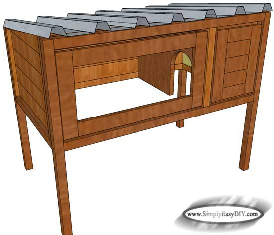 Best 25 rabbit hutch plans ideas on pinterest cages for for Simple rabbit hutch