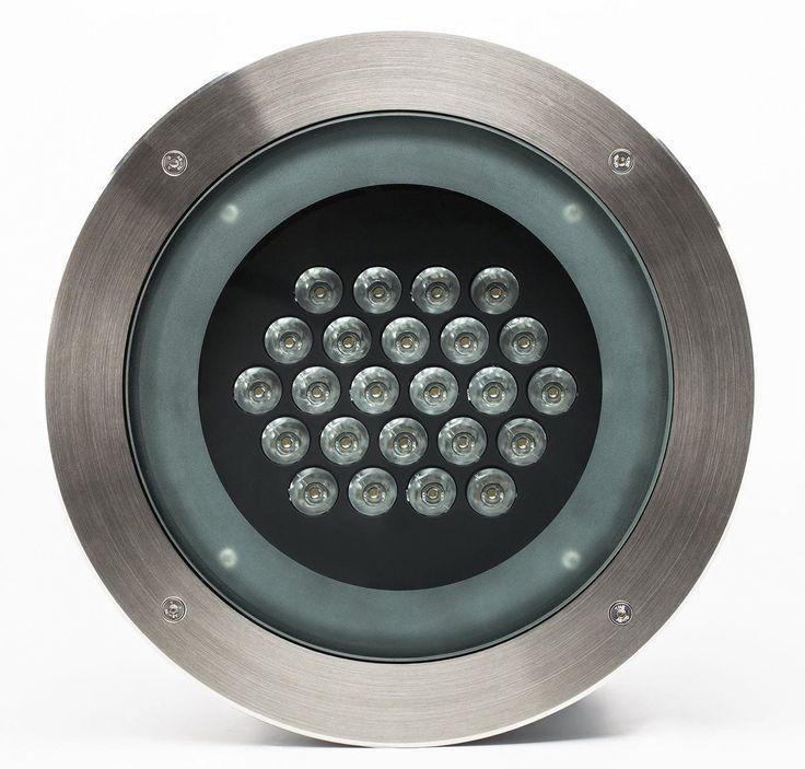 Luminaire encastrable au sol / à LED / rond / d'extérieur INTIGROUND IntiLED
