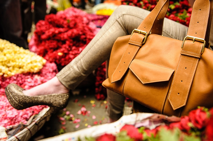 Tan Shoulder Bag. Fairtrade. Luxury Buy at: www.bettyandbetts.com