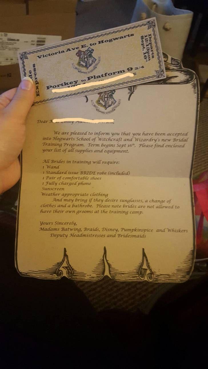 This Harry Potter Bachelorette Party Sounds Amazing