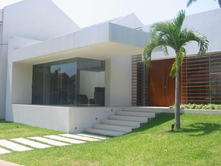 Casas modernas blancas inspiraci n de dise o de - Diseno de interiores de casas modernas ...