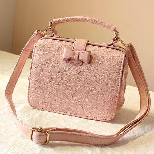 Lace Shoulder Bag Handbag