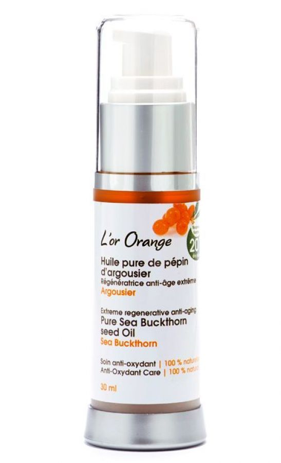 SEA BUCKTHORN SEED OIL -  Used for centuries in Europe and Asia, sea buckthorn is renowned for its medical and dermocosmetic use. #seabucktorn #oil #naturalskincare