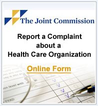 Joint Commission Contact Us | Accreditation