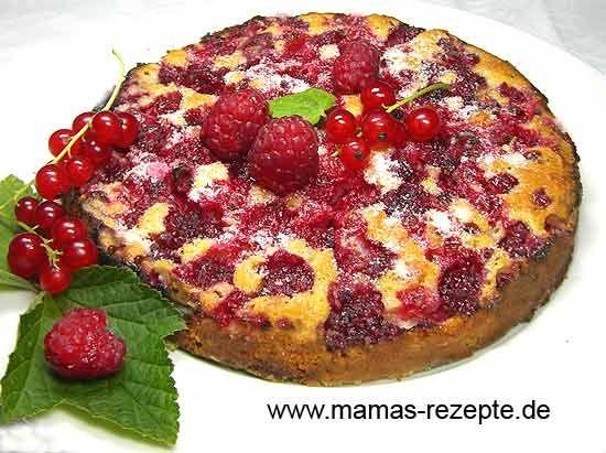 Rezept Kleiner schneller Obstkuchen auf Mamas Rezepte Homepage