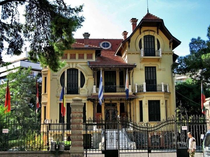 Villa Bianca, Thessaloniki city, Greece