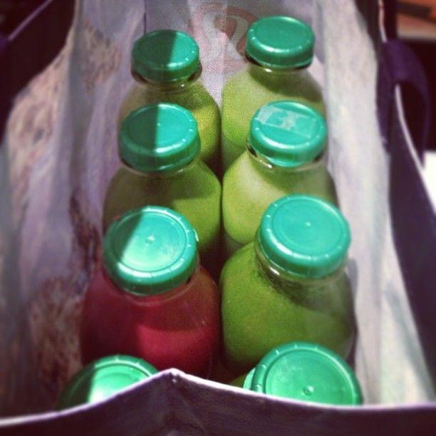 Load up on juice!