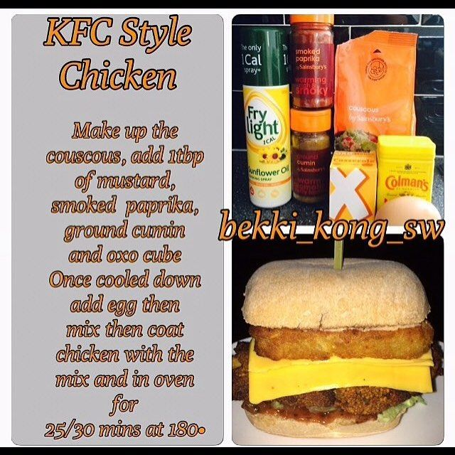 KFC Chicken FakeAway Slimming World