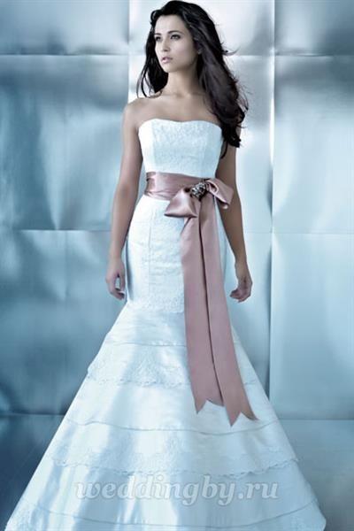 Лента на свадебное платье