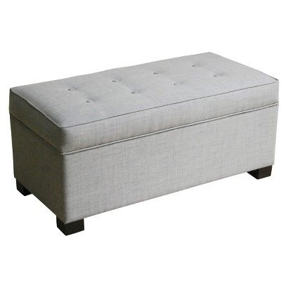 Threshold™ Large Storage Ottoman form target but from anywhere will do lol need for the foot of the bed!