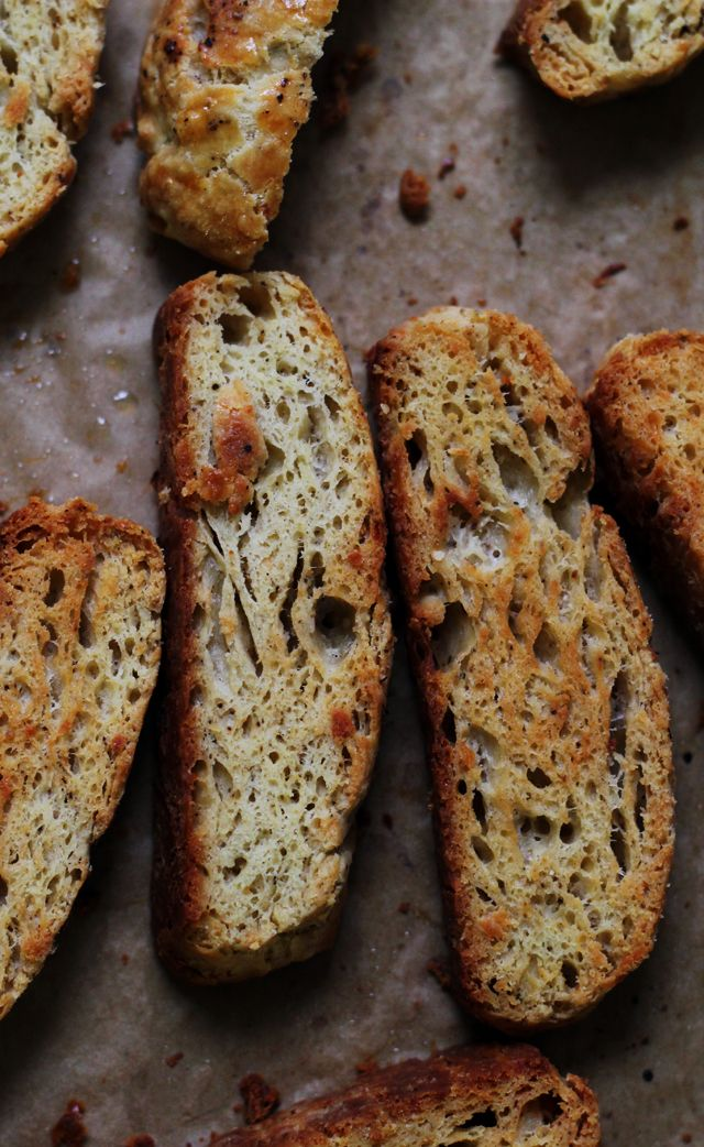 Parmesan and Black Pepper Biscotti More