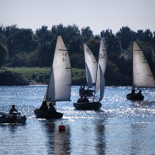 Sailing in the sun at Fairlop Waters! #Redbridge #Essex  Follow us on Instagram for more snapshots of Redbridge! http://instagram.com/do_morered
