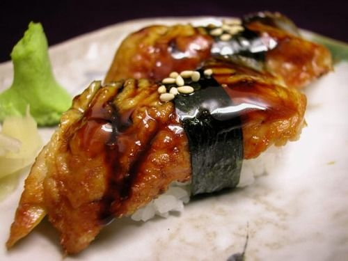 Image result for unagi sushi
