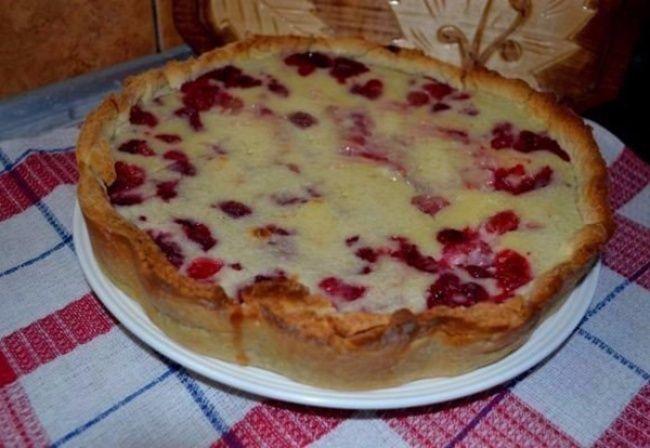 Знаменитый цветаевский пирог с малиной