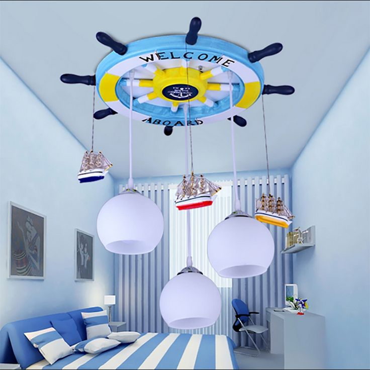 (153.34$)  Buy here - http://ais56.worlditems.win/all/product.php?id=32671820192 - cartoon Mediterranean Led modern lighting chandeliers baby room Led chandelier ceiling kids 110V 220V Led chandelier