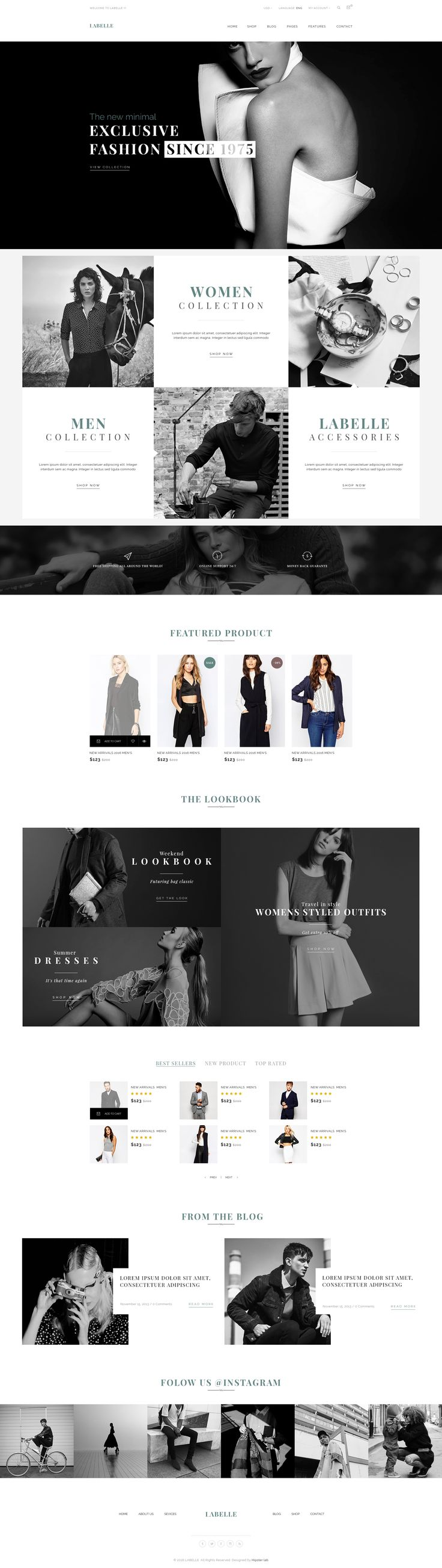 LaBelle - Fashion PSD Templates • Download ➝ https://themeforest.net/item/labelle-fashion-psd-templates/16304230?ref=pxcr
