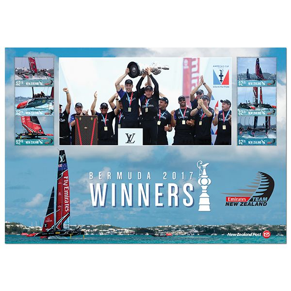 2017 | America's Cup Stamp Issue