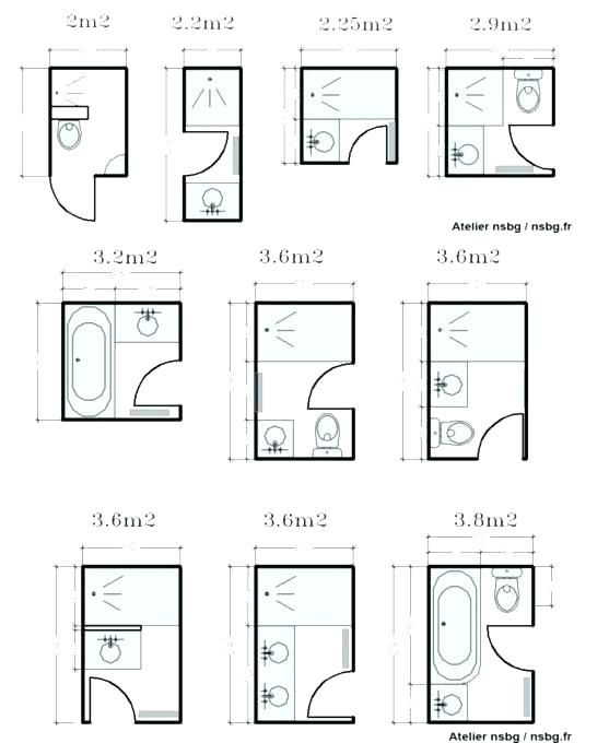 Image result for small plans for 3-piece bathroom | Small ...
