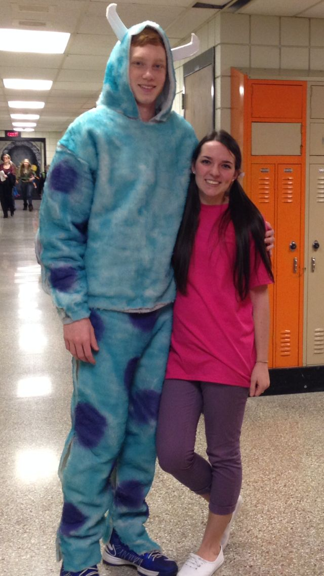 Boo and Sully monsters inc costumes