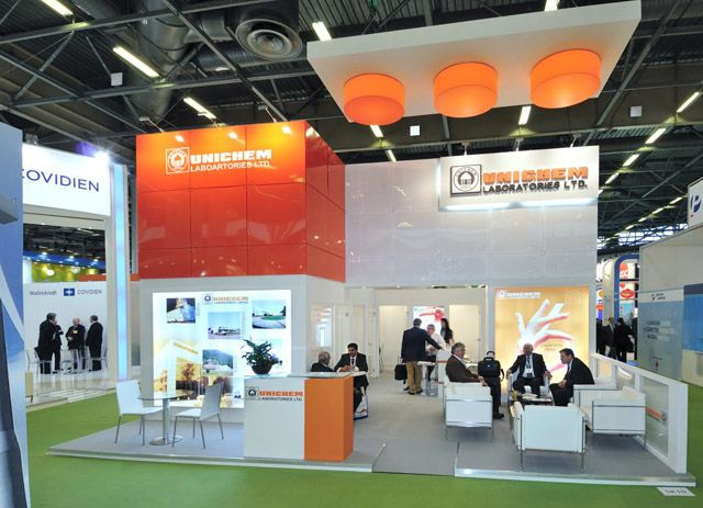 Stand Expo Europa : Custom booth for unichem to know more about us visit