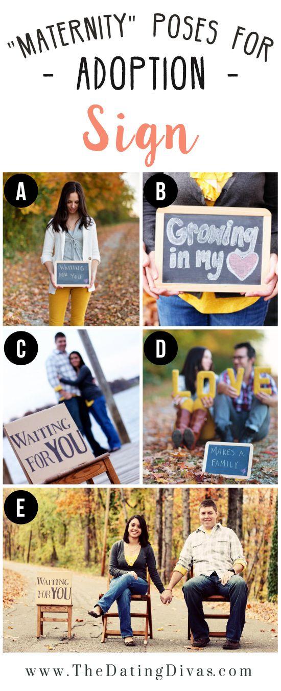 Adoption Photo Sign