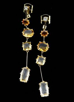 H.Stern's Sunrise Collection really long earrings...beautiful