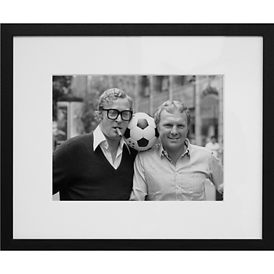 Caine and Moore £150