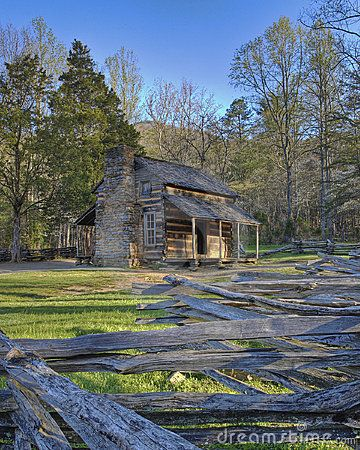 Smoky Mountain Cabin - The Great Smoky Mountains National Park