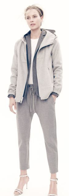 J Crew Collection Cashmere Hoodie.