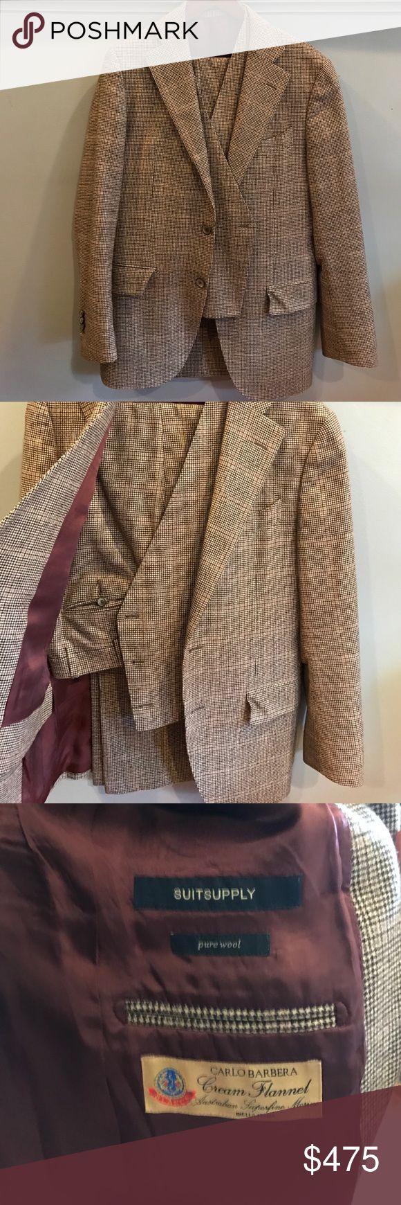 Suitsupply Men's Suit Suitsupply. 3 Piece Suit. Double Breasted Vest. GREAT Condition. EUR 48 UK 38 Suits & Blazers Suits