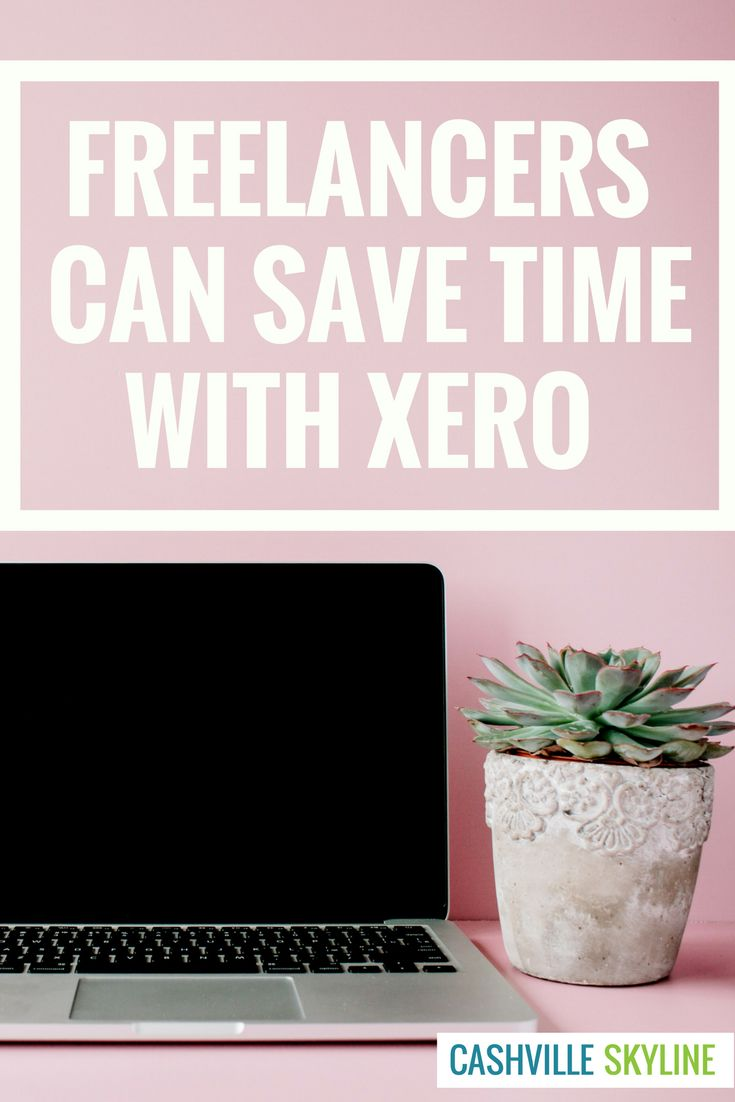 Find out how to stop wasting time on invoicing and accounting with Xero. Freelancers can focus on making more money! #Ad via @CashvilleSky