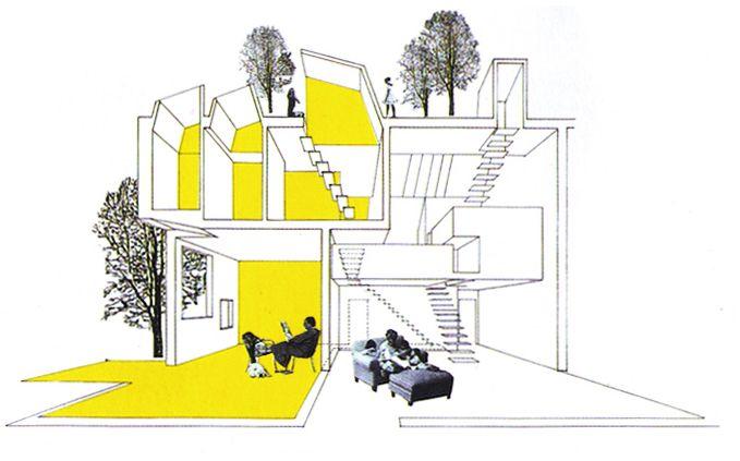 My First Job: Divorced House by Deborah Saunt, DSDHA