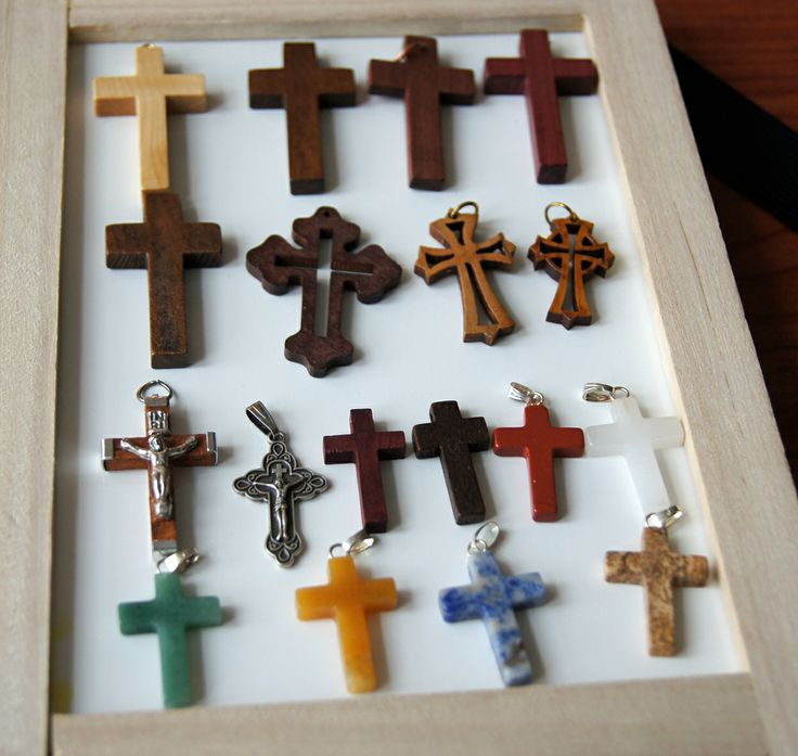 Crosses, Crucifixes for devotion or pilgrimage.   Plain, wooden, Roman Catholic, Orthodox, Gemstone style. https://www.etsy.com/listing/166565786/cross-crucifix-necklace-with-wooden?ref=shop_home_active_1