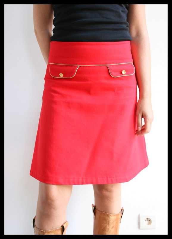 A-Line Skirt Week Winners! van patroon mme zsazsa