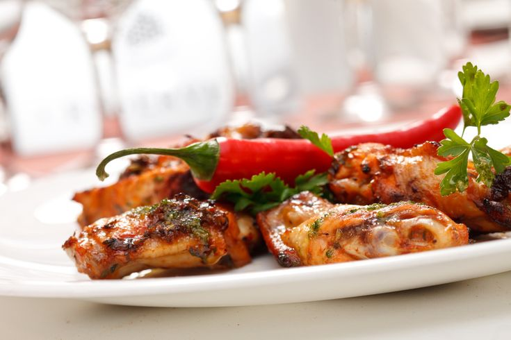 Piri Piri Wings .… Piri Piri sauce is a spicy sauce of chilies, garlic, olive oil and other goodies introduced to East Africa by the Portuguese during the Spice Trade.