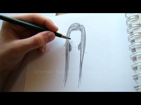 Zeichnen lernen: Haare zeichnen