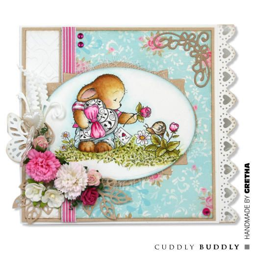 Pachela Studios Digi Stamp - Toby Tumble Just Because < Craft Shop   Cuddly Buddly Crafts