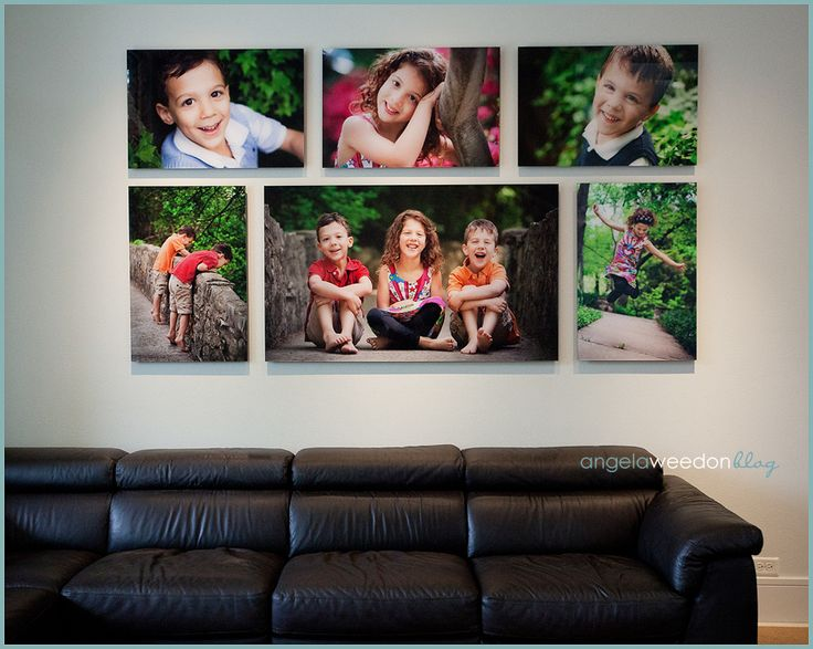 I am over run with canvases at my house, but I am thinking this cluster would be a nice addition.
