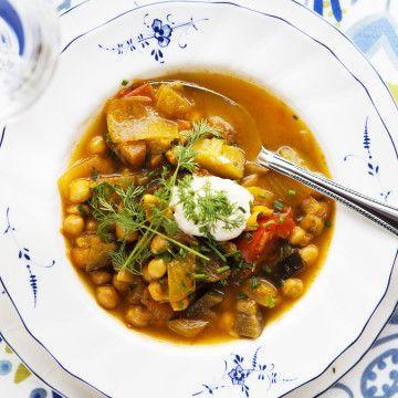 Vegetarisk soppa från det franska lantköket. French Veg country soup- translate from Swedish