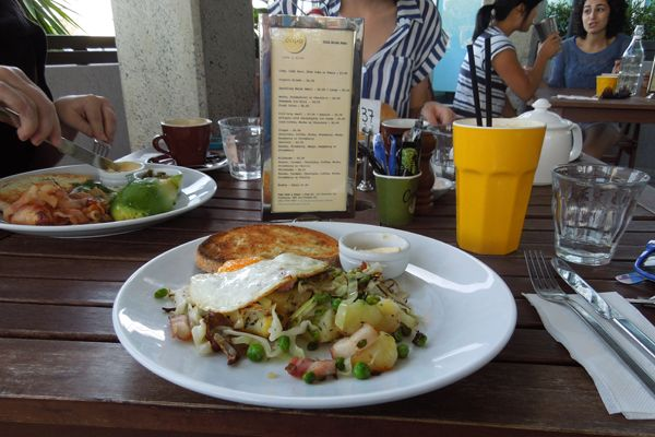 The best potato hash in Sydney @Copo Cafe & Diner