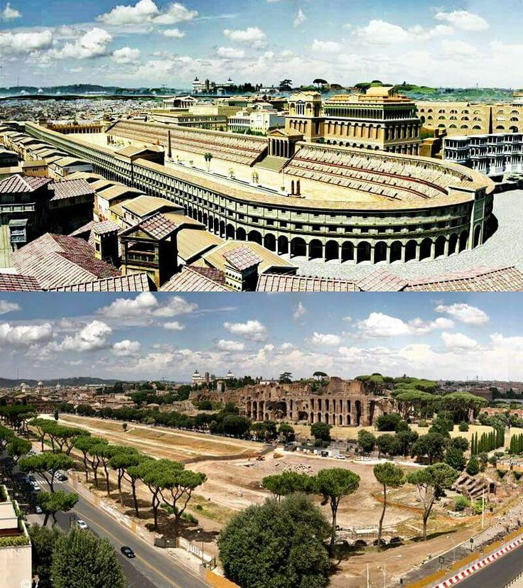 Circus maximus  (Roma) - I only got to see the after picture