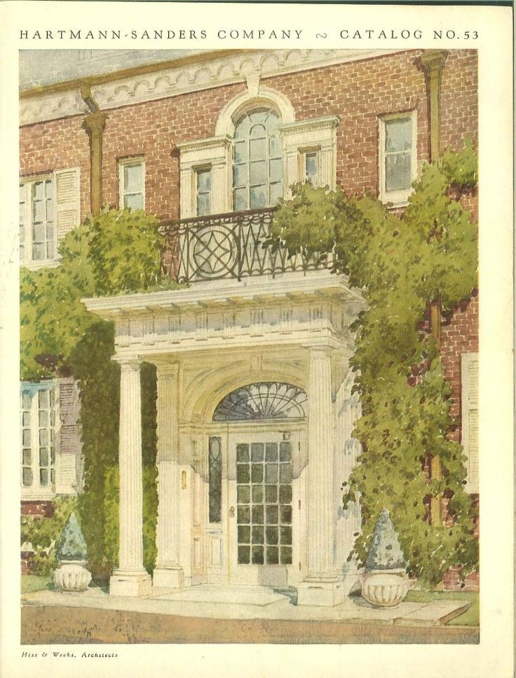 Colonial entrances of character and distinction for David sanders home designs
