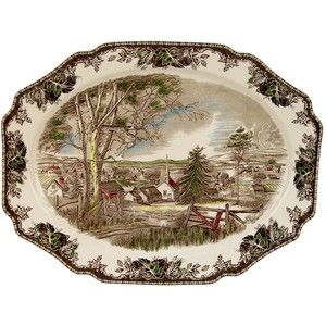 Johnson Brothers Friendly Village Turkey Platter