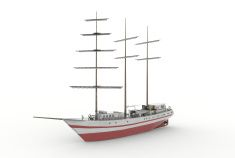 Polish Ship - class B79/II stock photo