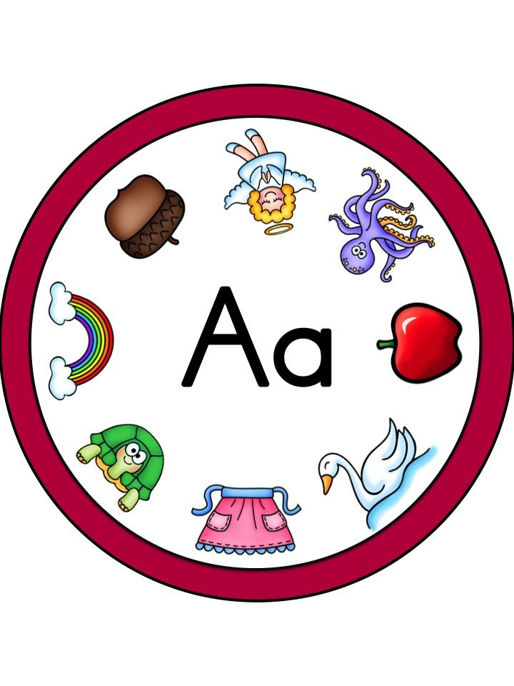 Letter A Clip Card  Part of the Alphabet Adventures Program  Download Letter A Packet for FREE!