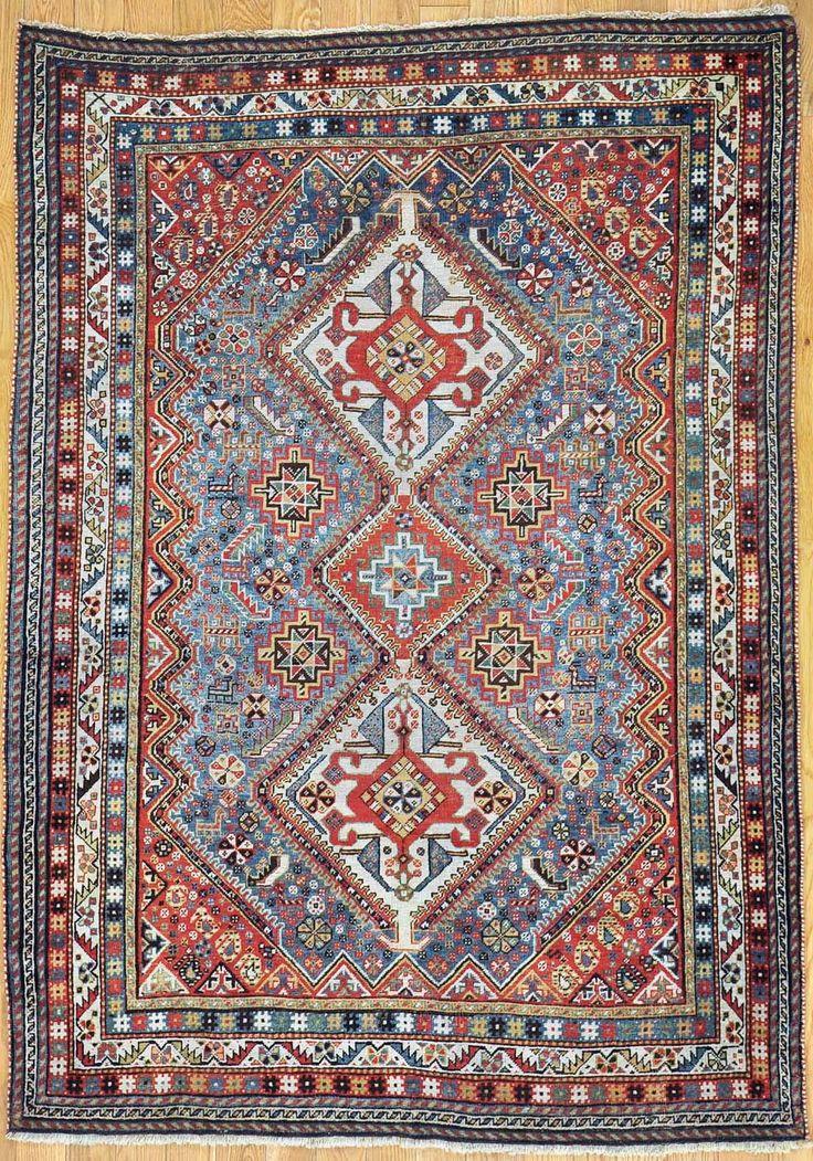 Qashqai Persian Rug Authentic Handmade