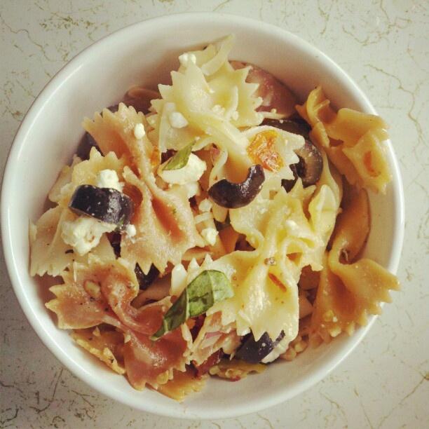 sun-dried tomato pasta salad | Food Porn | Pinterest
